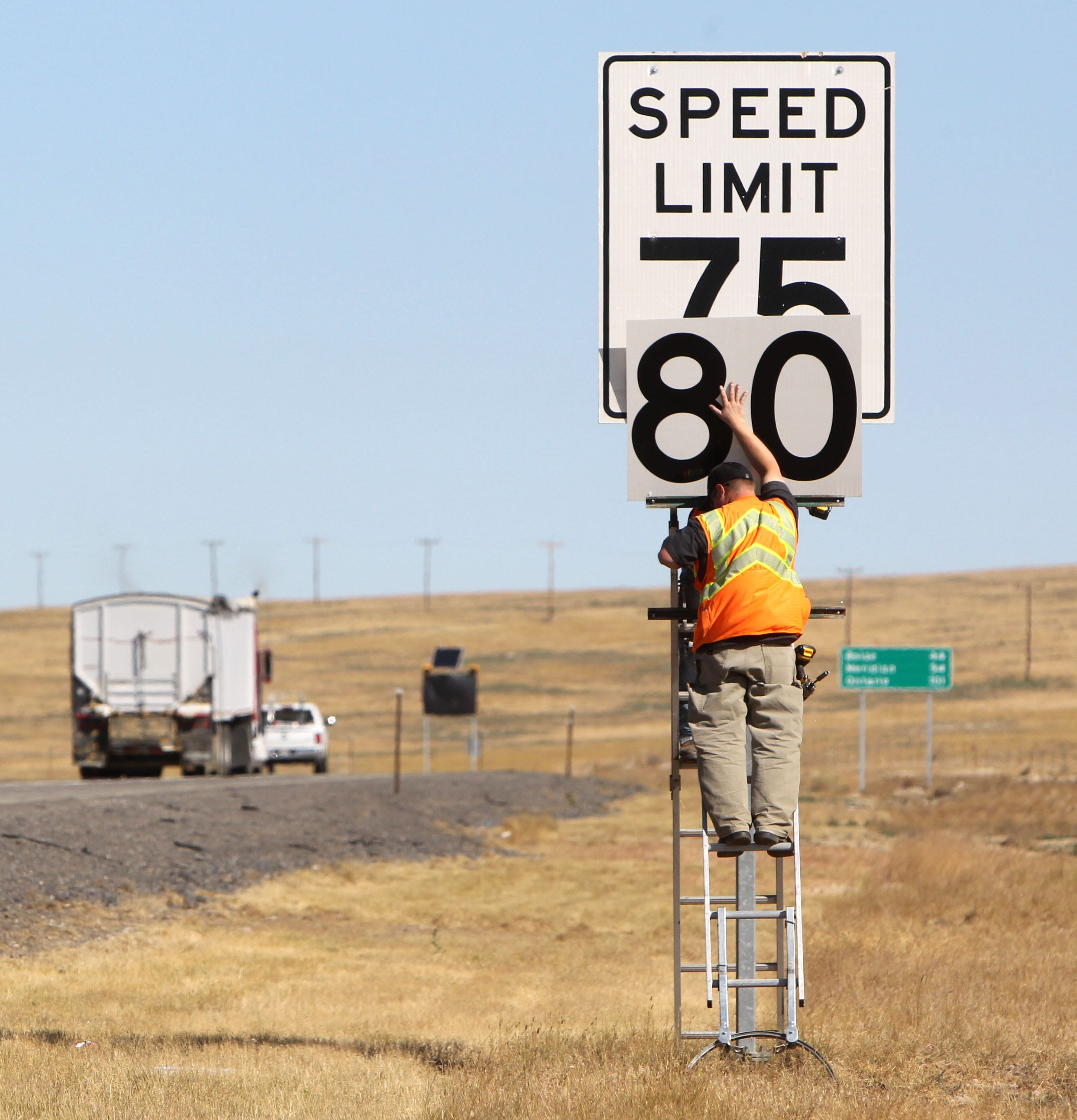 northbound I-15 – speed limit 75 mph   It's not like much ha…   Flickr