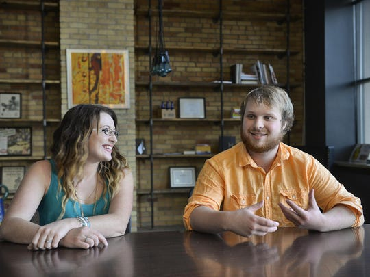 Clare and Brandon Richards talk about their efforts to start a local chapter of Rotaract in St. Cloud.
