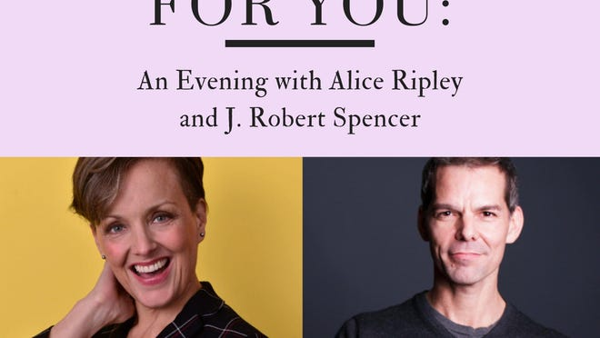 Tickets for 'Perfect for You: An Evening with Alice Ripley and J. Robert Spencer' are available now at savannahrep.anywhereseat.com.