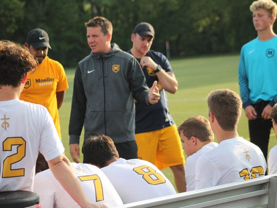 Moeller soccer coach Mike Welker says he's a lifetime