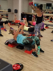 Classes at Melbourne Athletic Club track your exercise