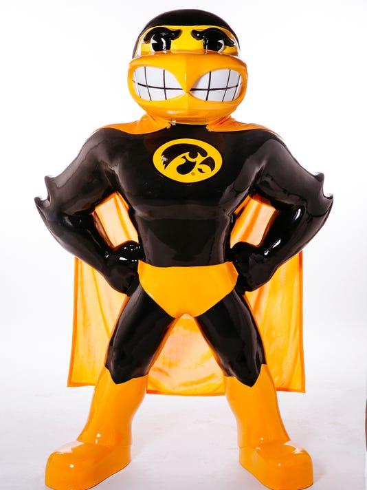Superhero Herky - Cody Ash & Alyssa Peters