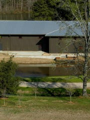 Lone Oaks has built a Sale Barn specifically for its