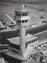 "1952: Terminal 1 completion- Post-World War II growth means the need for a new terminal.  In September, Mardian Construction Co. finishes Terminal 1 at a cost of $835,000. The new terminal includes a ""state-of-the-art"" control tower, a drastic change from when local planes would come in and park anywhere. 