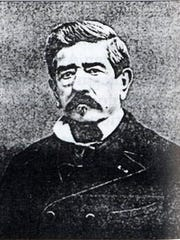 A portrait of Gaetan Picon the inventor of Amer Picon, the main ingredient in the original Picon punch.