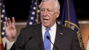 House Majority Leader Steny Hoyer of Md. Hoyer told colleagues he was with John Dingell in Michigan on Wednesday evening, along with former U.S. Rep. Sandy Levin, D-Royal Oak, who served with Dingell for 36 years.