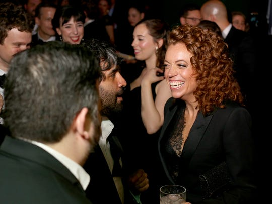 Michelle Wolf attends the celebration after the White House Correspondents' Dinner in Washington, D.C., on April 28, 2018.