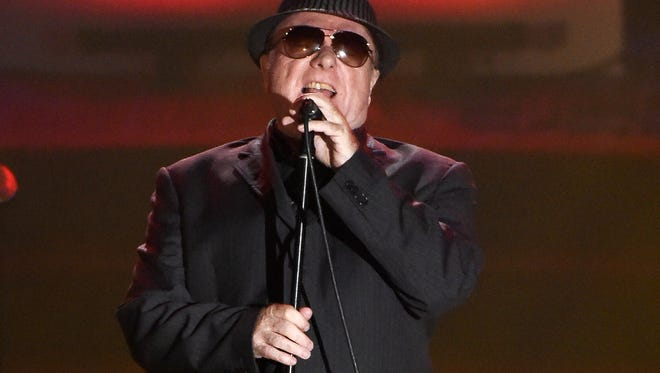 Van Morrison FILE - In this June 18, 2015 file photo, Van Morrison performs at the 46th Annual Songwriters Hall of Fame Induction and Awards Gala in New York. The Americana Music Association announced, Friday, May 12, 2017, that they will be giving a lifetime achievement award to Van Morrison. (Photo by Evan Agostini/Invision/AP, File)