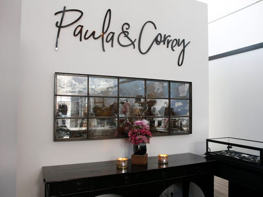 Inside the new Paula & Correy store at the West Glen