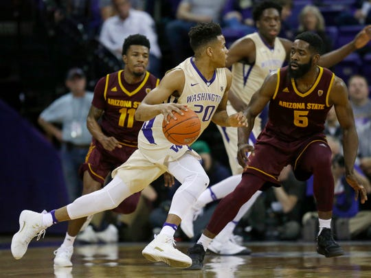 Washington guard Markelle Fultz (20).