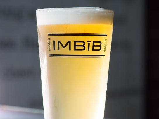 Nevada Weisse from Imbib Custom Brews.