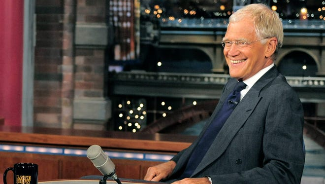 David Letterman will get a prime-time sendoff on May 4.