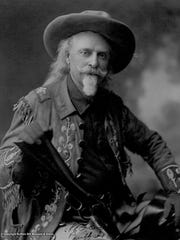 "William ""Buffalo Bill"" Cody, around 1900."