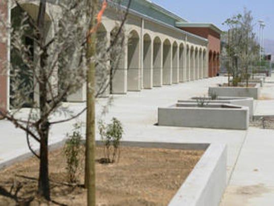 This Desert Sun file photo shows Desert Ridge Academy