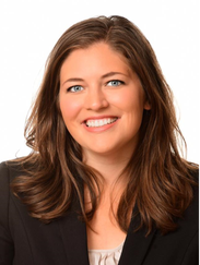 University of Iowa MBA student Kate Lindaman is pictured