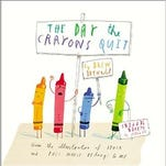 """The writing and art contest is based on Daywalt's book, """"The Day the Crayons Quit."""""""