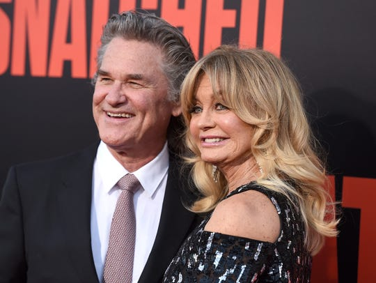 "Kurt Russell and Goldie Hawn starred in 1987's ""Overboard."""