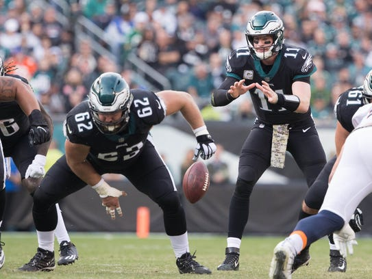 Carson Wentz is playing as well as any quarterback