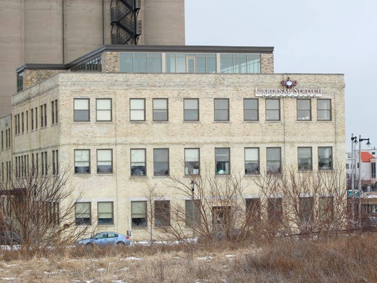 A former Pabst brewery building is being converted