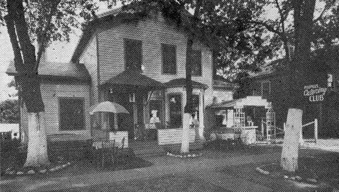 This undated photo shows the former Sportsmen's Fishing and Hunting Lodge at 210 Clairmont St. in Port Huron. The lodge stood in an area now occupied by the new St. Clair County Building and the Ameritech Building. During the segregation era, the lodge was where out-of-town black people could rent a room overnight.
