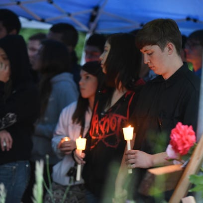 Anthony Samples and classmates share stories and remember