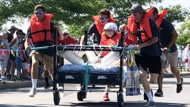 Ordinarily held on the Canandaigua City Pier, the Family Promise of Ontario County bed race this year will be a virtual event, thanks to the coronavirus pandemic.