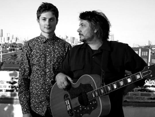 Spencer and Jeff Tweedy