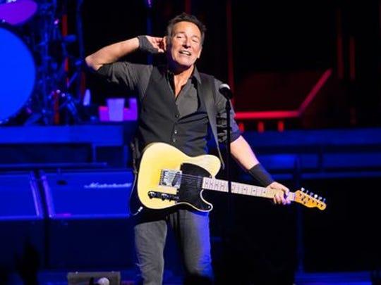 Bruce Springsteen in Chicago.