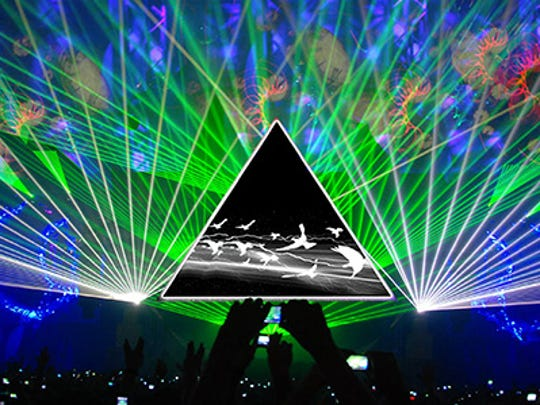 "Pink Floyd's ""Dark Side of the Moon"" has long been a laser light show favorite. The 1973 album will now enjoy (another) shining moment as the anthem of a natural, cosmic light show."