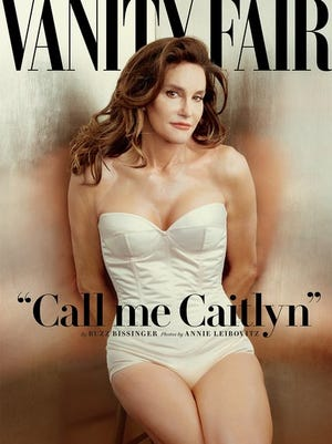 'Vanity Fair' releases first pictures of Caitlyn Jenner, formerly known as Bruce Jenner.