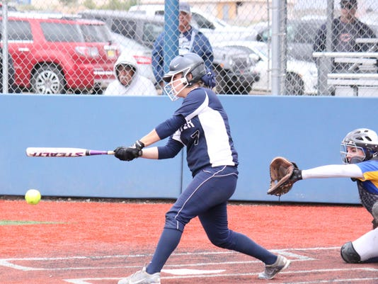 Silver's Asia Morales went 2-for-4 with a homerun and three RBIs at the plate against Bloomfield. She also scored three runs in the state championship win.