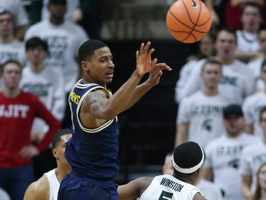 Charles Matthews and Michigan have won three in a row against Michigan State.