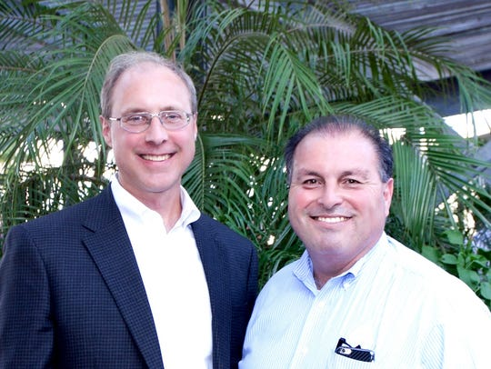 CITGO representatives Art Klein (left) and Larry Elizondo