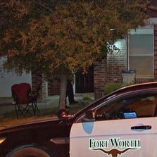 Fort Worth police found a man and a woman dead of gunshot wounds in a residence on Two Hawks Drive on August 27, 2014.