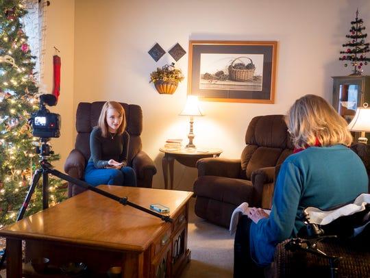 Amanda Springob sits down with USA TODAY NETWORK-Wisconsin