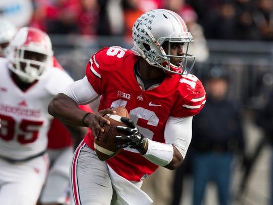 Ohio State quarterback J.T. Barrett.