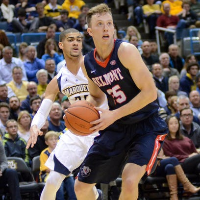 Belmont's Bradds is Julius Erving Award candidate
