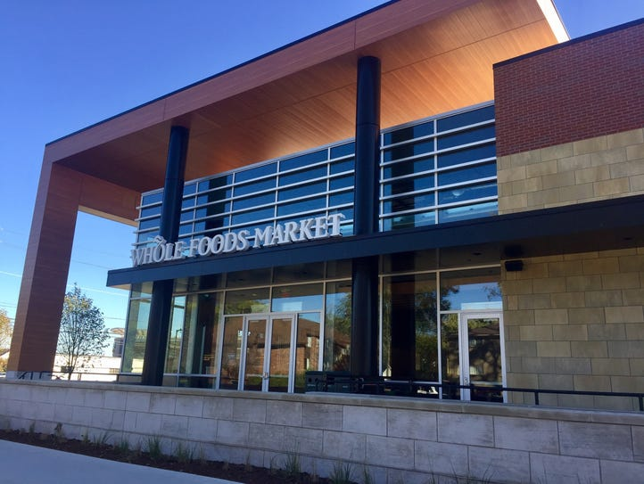 A new Whole Foods Market at 2100 E. Maple Road is opening