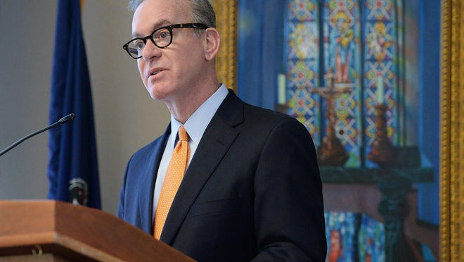 President Michael Victor informed the Mercyhurst University community this week in a letter that the university will eliminate 2020 fall break and send students home before Thanksgiving, and that Mercyhurst students will take their final exams remotely.