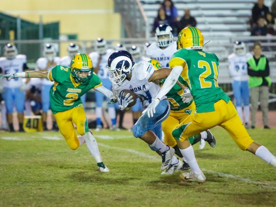 The Coachella Valley varsity football team won Friday's