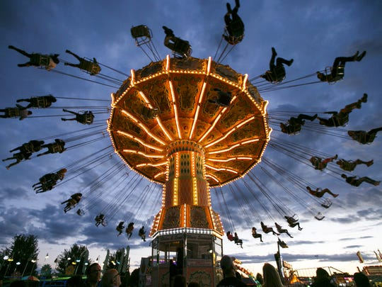 Oregon State Fair: The fair usually takes place the final week of August and first week of September.