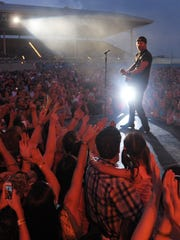 Country singer Dierks Bentley headlines the Delaware