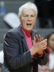 "Northwestern State women's basketball fans are encouraged to wear pink to Thursday night's game against Central Arkansas to honor former North Carolina State women's basketball coach Kay Yow in the annual ""Play for Kay"" game to honor the coach who died in 2009 after battling breast cancer."