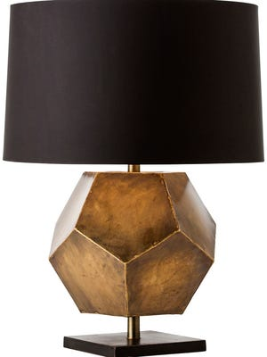 ARteriors Home Drea Geometric table lamp.