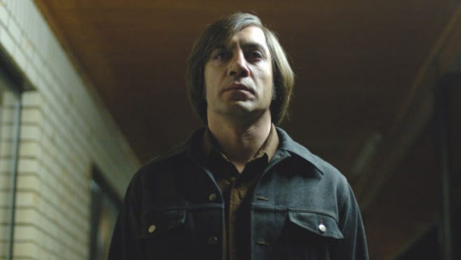 "Javier Bardem was haunting as Anton Chigurh in ""No Country for Old Men."" The role earning Bardem a best supporting Oscar."