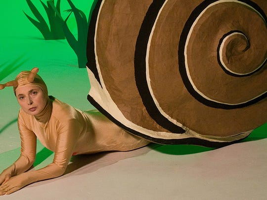 "Isabella Rossellini takes her performance-art piece ""Green Porno"" to the Englert Theatre in Iowa City on Dec. 12."