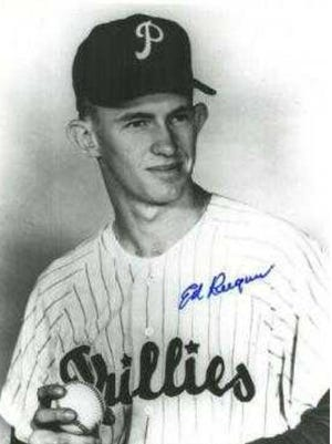 Ed Keegan was known for his 94-mph fastball and for once striking out Yankee great Mickey Mantle in an exhibition game.