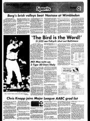Battle Creek Sports History: Week of June 30, 1976