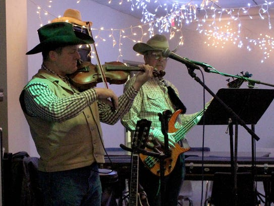 The Red Door Band performs at the Country-Western Live
