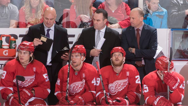The Red Wings are on the verge of having their 25-year playoff streak come to an end.